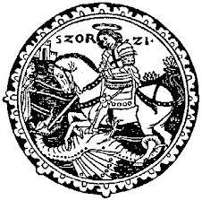 St. George mediaeval woodcut