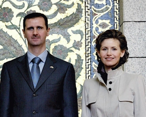 Bashar and Asma al-Assad