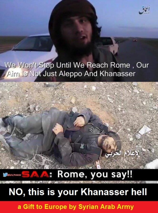A Gift to Europe from the SAA