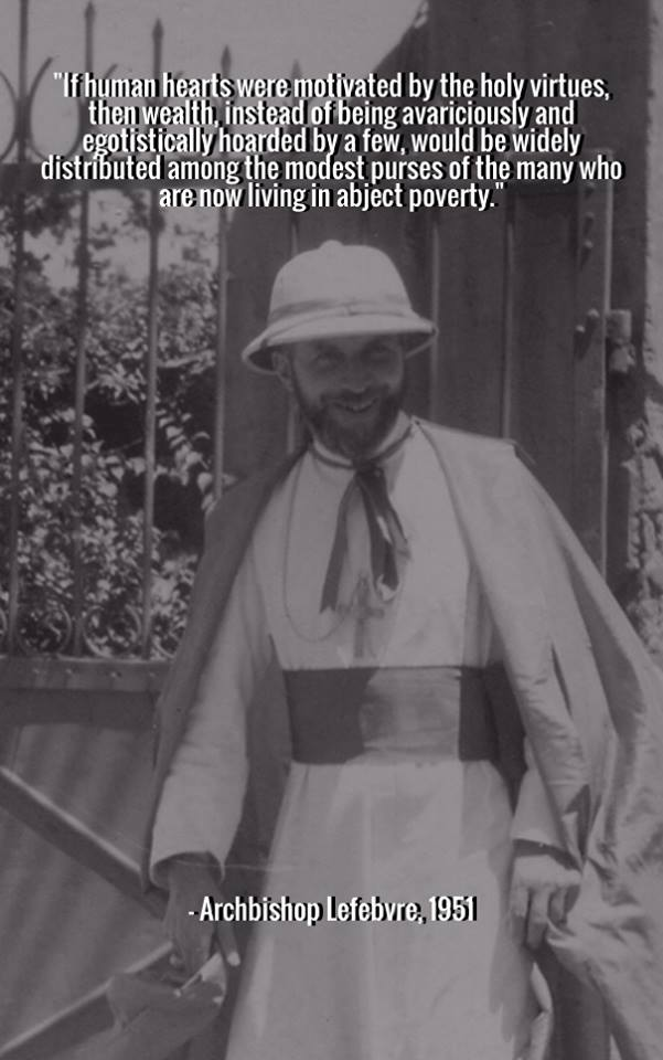 Archbishop Lefebvre meme