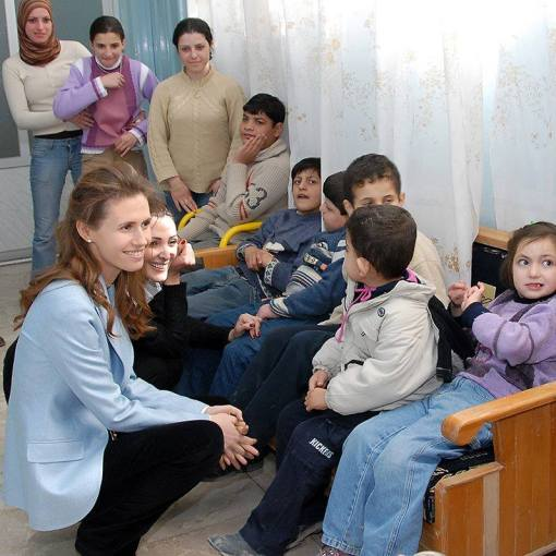 Asma Flower of the East with Autistic Children