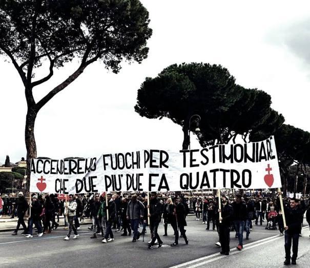Forza Nuova Rome Family Day 30th January 2016