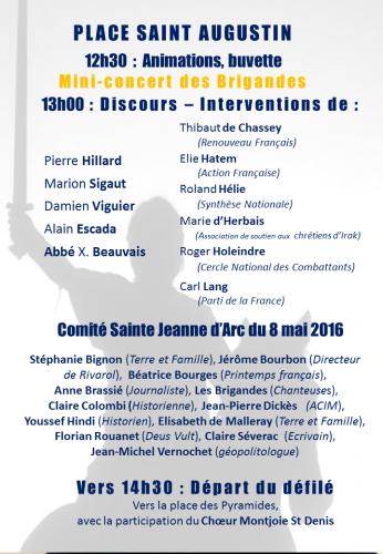 Jeanne d'Arc 2016 poster