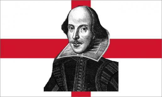 Shakespeare 400th anniversary death St. George's Day 2016