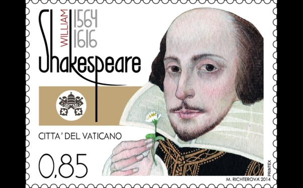 Shakespeare Vatican stamp