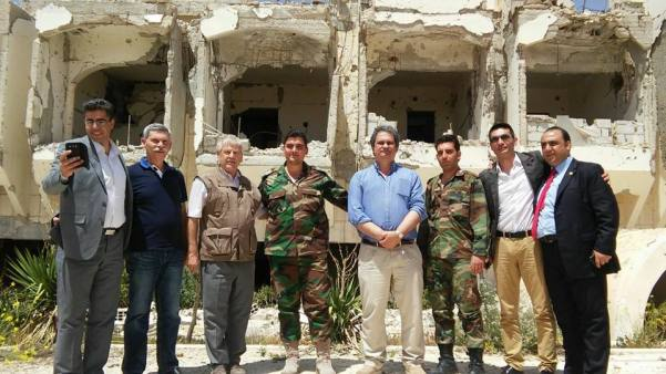 Syria Bob Udo and friends visiting Ma'loula