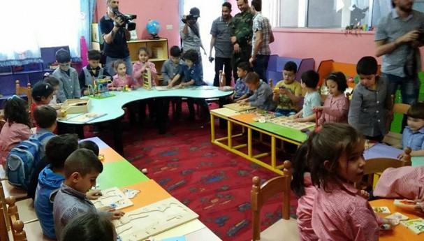 Syria Bob Udo visit Orphange school