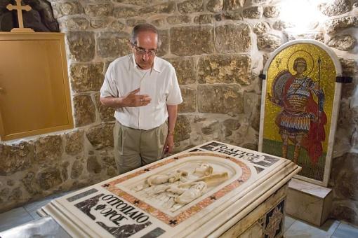 Tomb of St. George - Lydda - Palestine