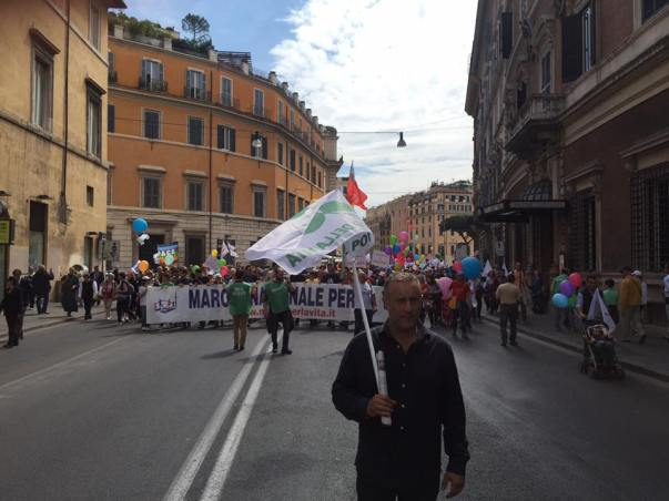 Alfredo Iorio Roma March for Life 8th May 2016
