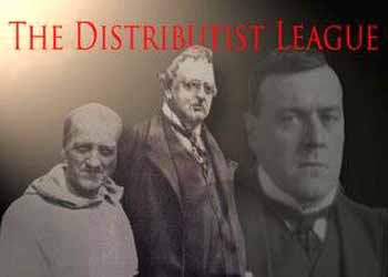Distributist League Fr.McNabb, Chesterton, Belloc