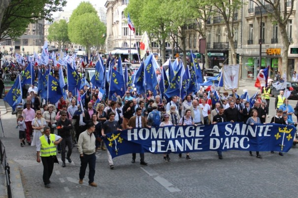 Joan of Arc parade Paris 2016