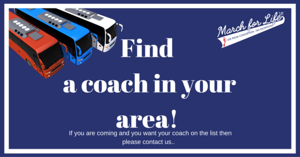 March for Life 2016 coach travel