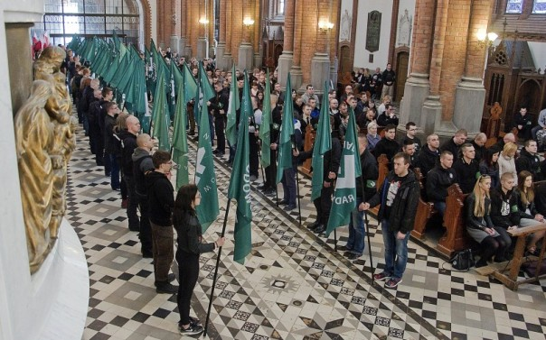 ONR Commemoration Bialystok Cathedral 16th April 2016