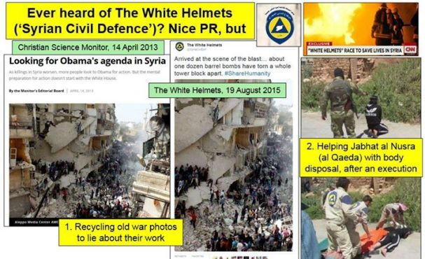 Syria White Helmets Exposed