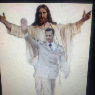 Bashir al-Assad Protector of Syrian Christians