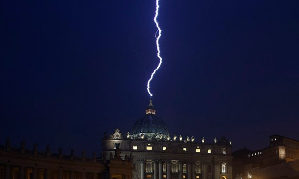 Lighting at Vatican