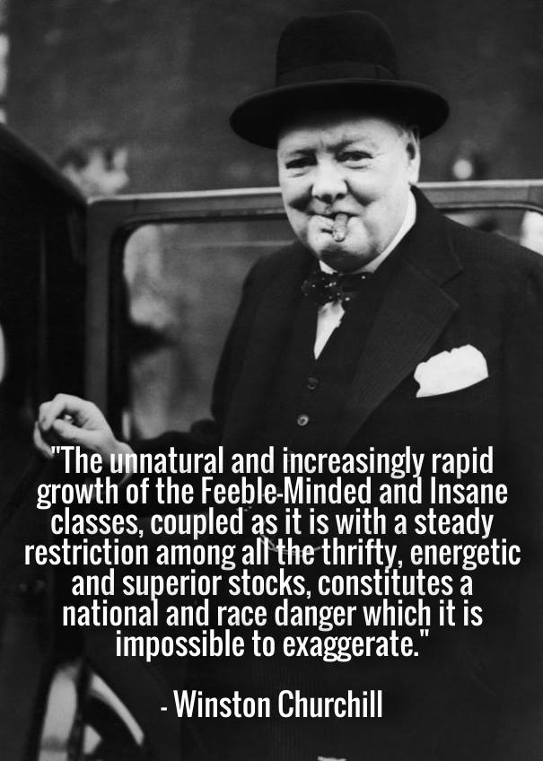 Churchill Eugenics