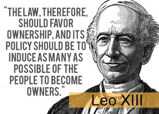 Leo XIII Distributism