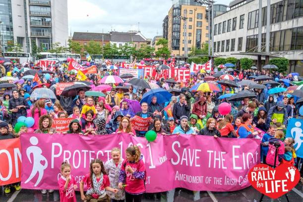 Rally for Life All-Ireland Belfast 2nd July 2016