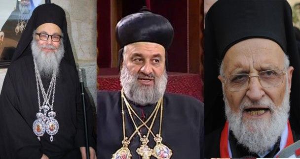 Syria, Catholic and Orthodox Patriarchs