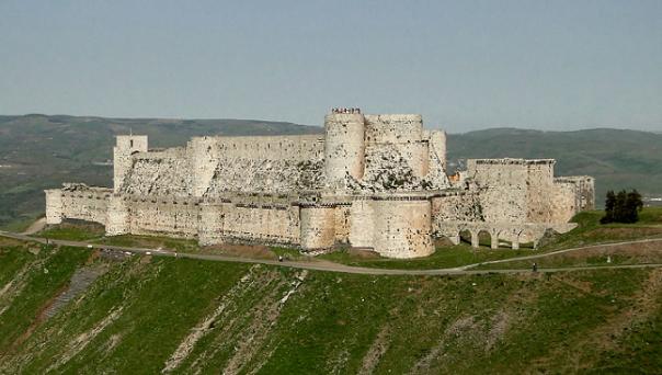 Syria Knight's Crag... Krak de Chevaliers