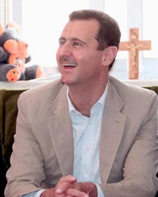bashar-al-assad-with-crucifix